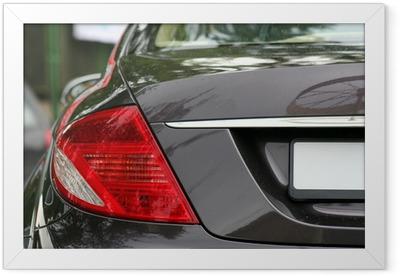 Gerahmtes Poster Mercedes benz cl