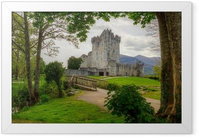 Ingelijste Poster Ross Castle dichtbij Killarney, Co Kerry Ierland