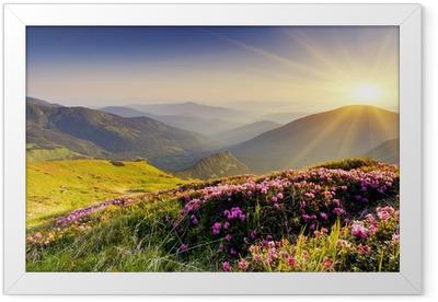 Plakat w ramie Górski krajobraz