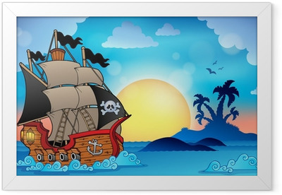 Pirates and pirate ships Posters - Catch the wind in the