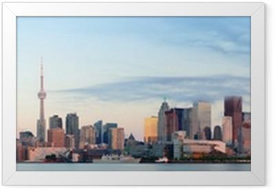 Ingelijste Poster Toronto zonsopgang