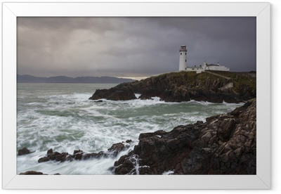 Ingelijste Poster Fanad Head Lighthouse