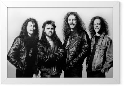 Çerçeveli Poster Metallica