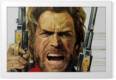 Poster en cadre Clint Eastwood - Criteo