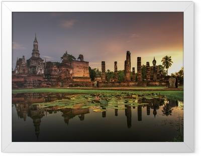 Gerahmtes Poster Sukhothai Historical Park