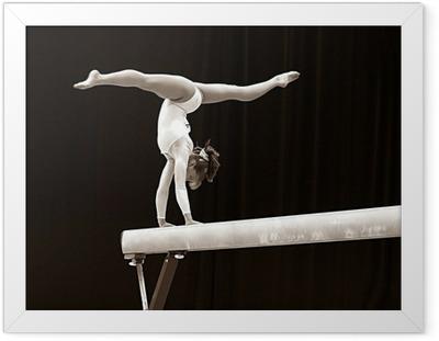 Ingelijste Poster Gymnast - 2