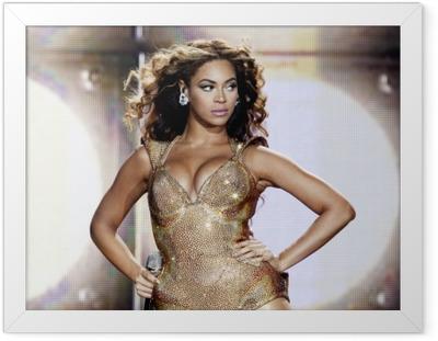 Innrammet plakat Beyonce