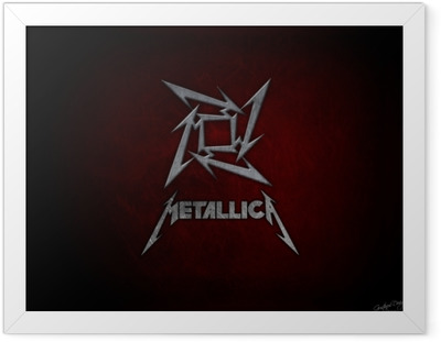 Metallica Kehystetty juliste