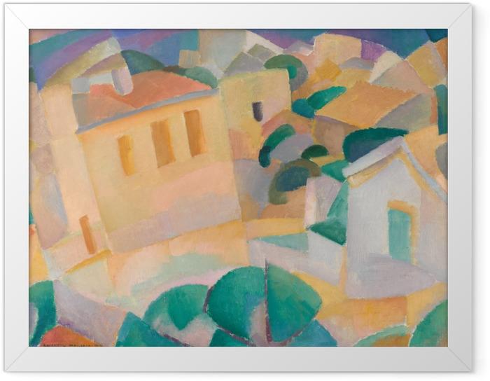 Ingelijste Poster Leo Gestel - Mallorca - Reproductions