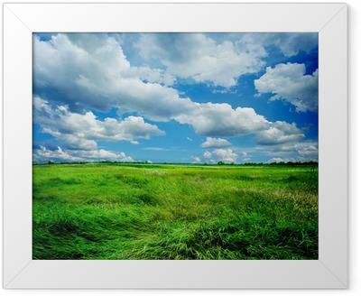 Póster Enmarcado Hermoso paisaje de la naturaleza