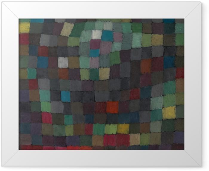 Paul Klee - Polyphony Indrammet plakat -