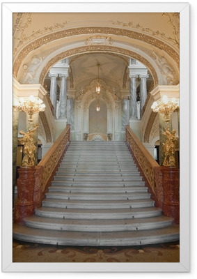 Plakat w ramie Stairway luksus