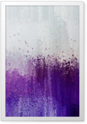 Ingelijste Poster Grunge paarse abstracte textuur achtergrond.