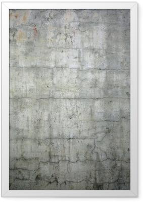 Ingelijste Poster Grunge concrete textuur achtergrond