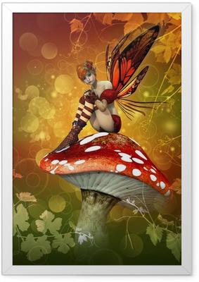 Ingelijste Poster De magie van de herfst