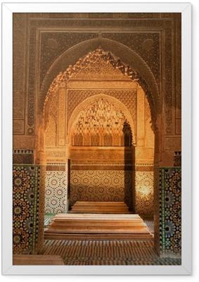Gerahmtes Poster Marokko