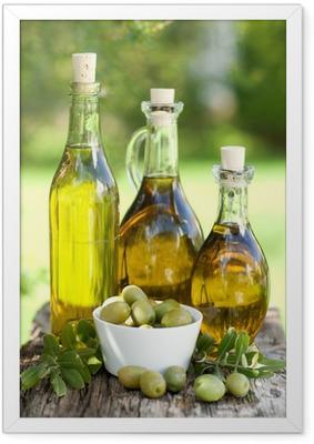 Olivenöl Framed Poster