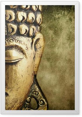 Plakat w ramie Złoty Budda