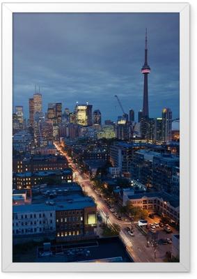 Ingelijste Poster Toronto lichten