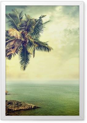 Poster en cadre Île tropicale
