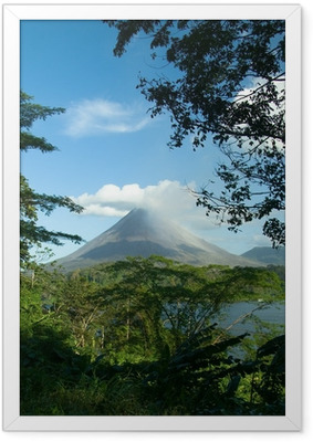Arenal Volcano, Costa Rica Framed Poster