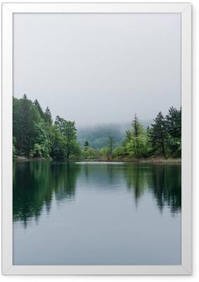 Poster en cadre Lac Misty