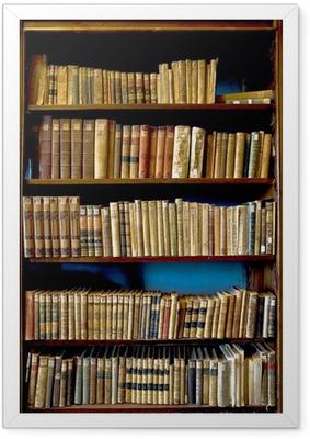 Poster i Ram Böcker i biblioteket