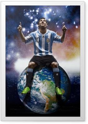 Poster en cadre Leo Messi