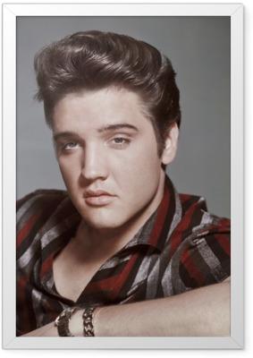 Póster Enmarcado Elvis Presley