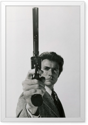 Clint Eastwood Framed Poster