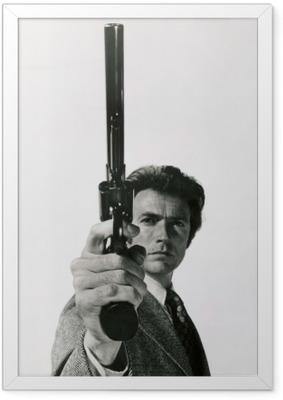 Poster en cadre Clint Eastwood