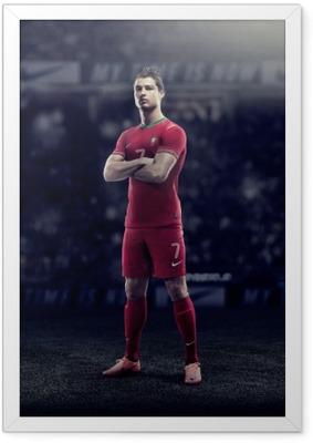 Poster en cadre Cristiano Ronaldo