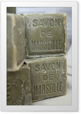 Poster en cadre Savon de Marseille n ° 4