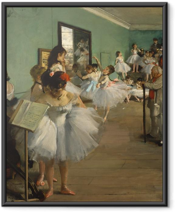 Plakat w ramie The Dance Class - Impresjonizm
