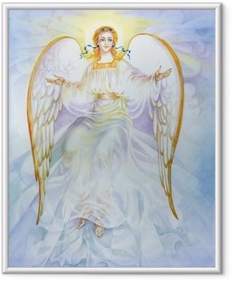 """Poster in Cornice Acquerello """"Angel"""""""