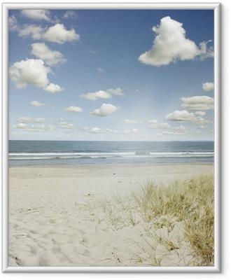 Çerçeveli Poster Plaj