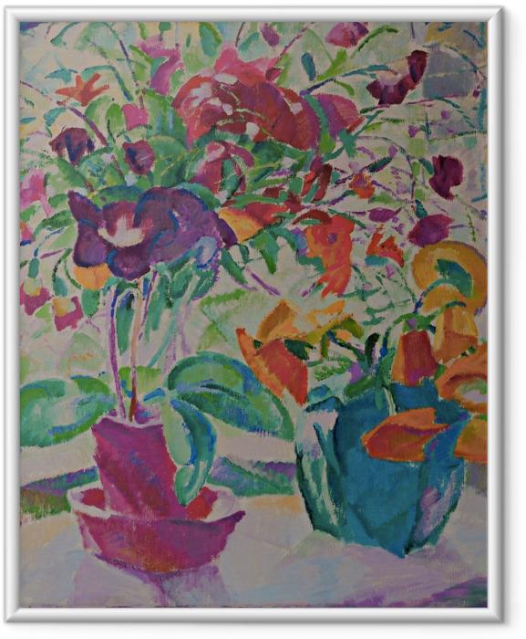 Ingelijste Poster Leo Gestel - Kytice v okně - Reproductions