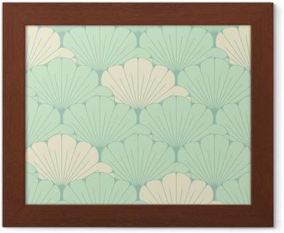 Poster una piastrella senza soluzione di stile giapponese con
