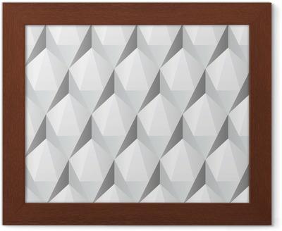 Vit 3d abstrakt sömlösa textur