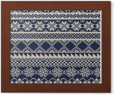 tradisjonelle fair isle. mønstre