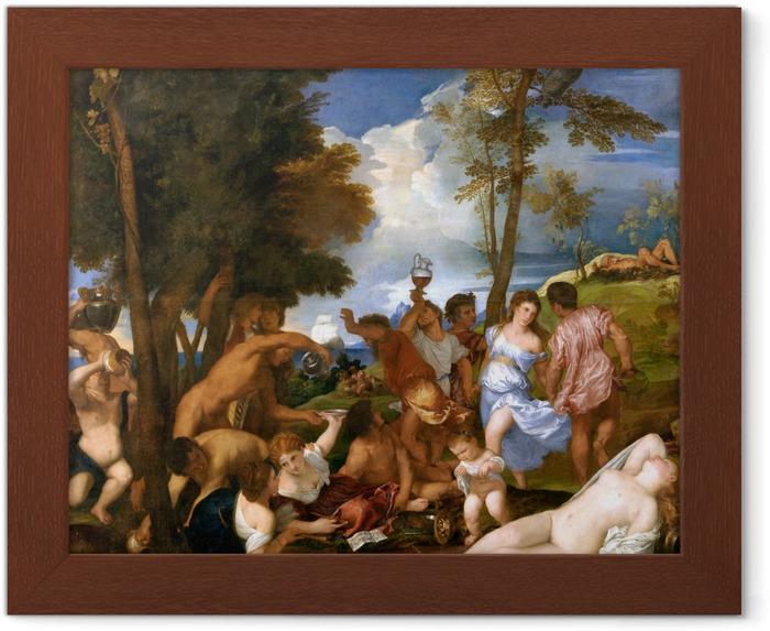 Póster Enmarcado Tiziano - Los andrios - Reproducciones