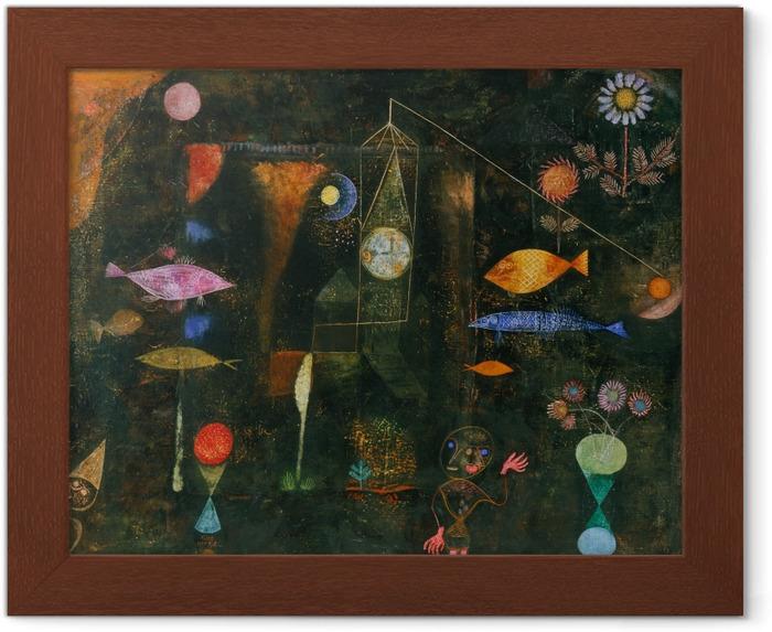 Poster en cadre Paul Klee - Magie des poissons - Reproductions