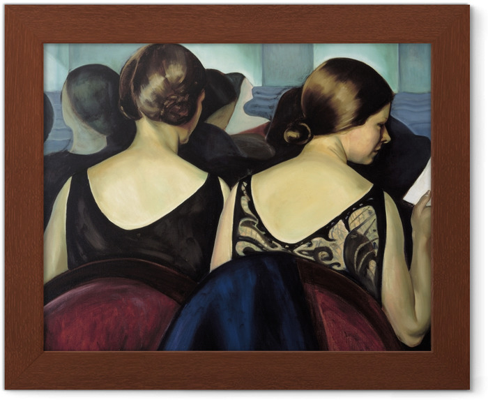 Poster in Cornice Efa Prudence Heward - A teatro - Reproductions
