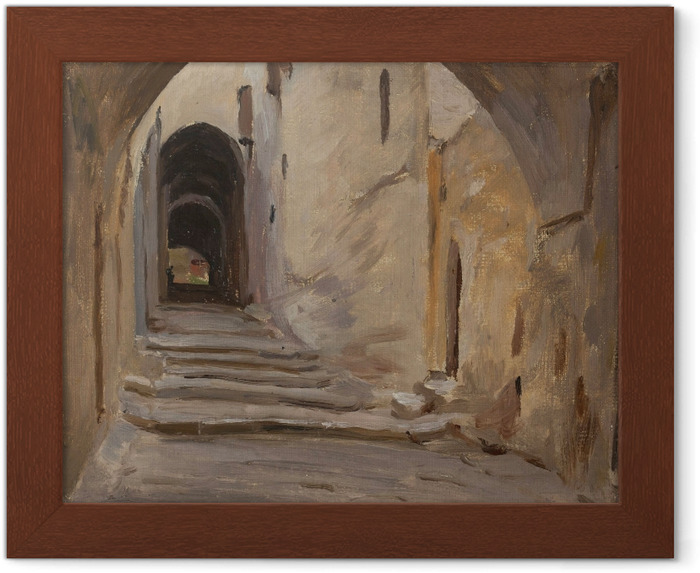 Póster Enmarcado Jan Ciągliński - Jerusalén. Del viaje a Palestina - Reproductions