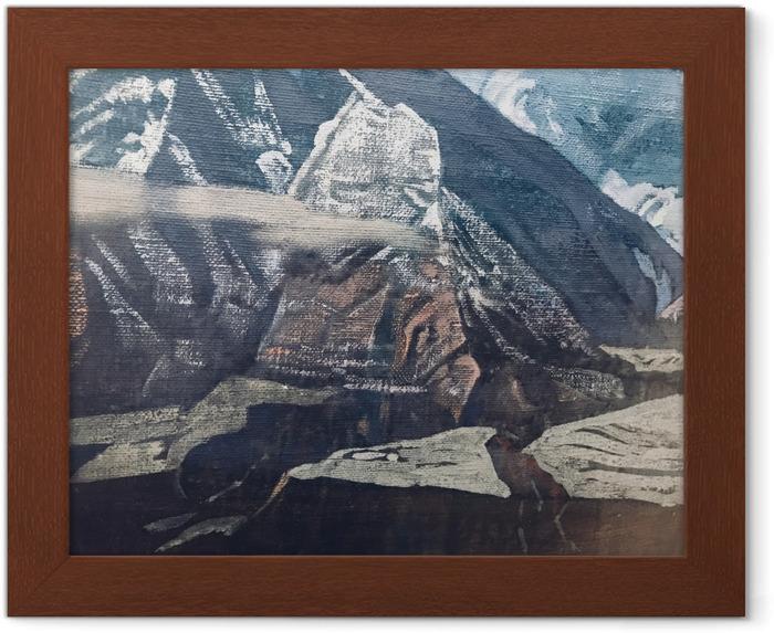 Póster Enmarcado Nikolái Roerich - Los Himalayas - Nicholas Roerich
