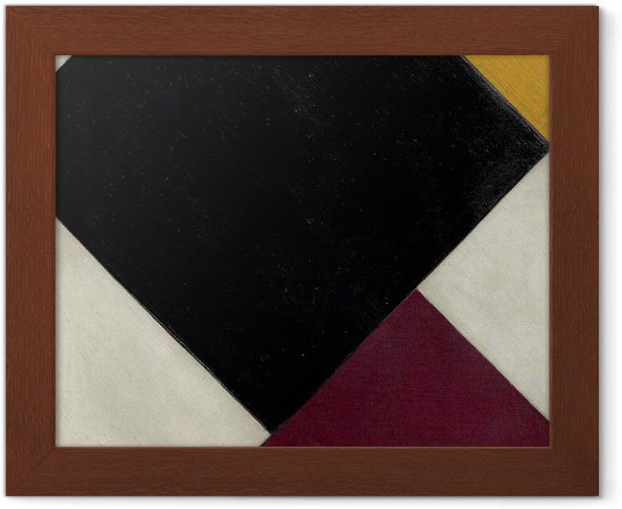 Plakat w ramie Theo van Doesburg - Kontrkompozycja XI - Reproductions