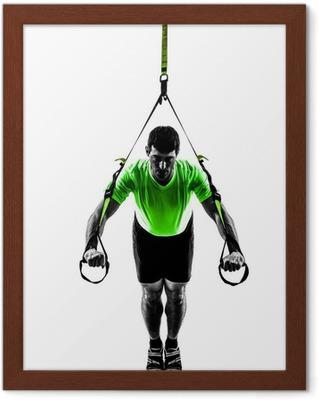 Poster Femme exerçant Zumba Fitness silhouette de danse • Pixers® - Nous  vivons pour changer 898928d29f4