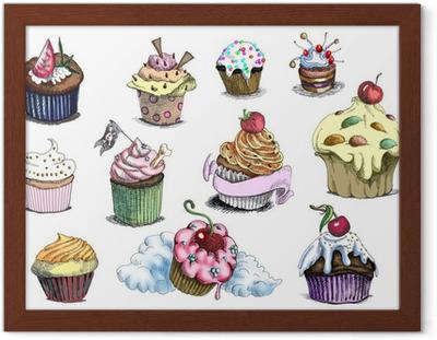 Cupcakes Si Tratta Di Originali Di Disegni