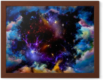 Metaphorical Space Framed Poster