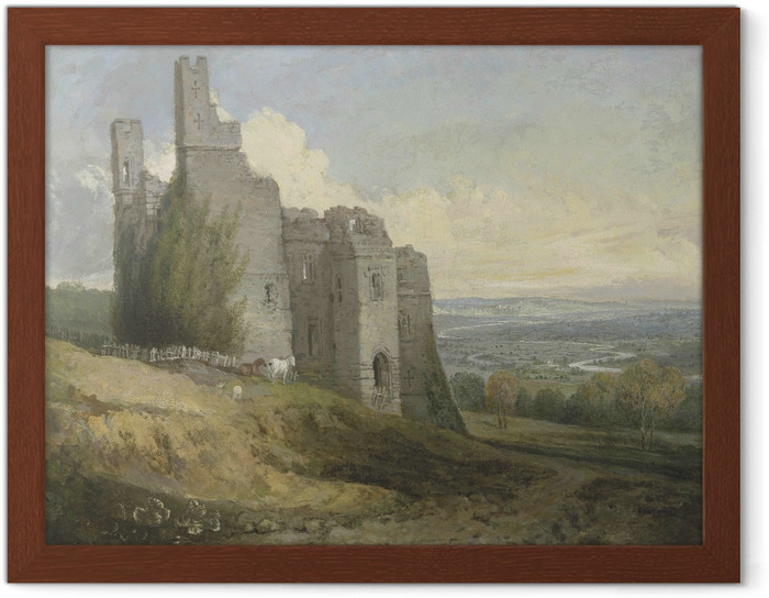 Poster en cadre William Turner - Château Conway - Reproductions